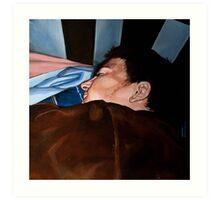 Sleeping Boy  Art Print
