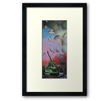 Tank War Framed Print