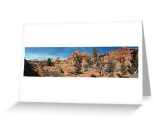 Shakespeare Arch- Kodachrome State Park, Utah Greeting Card