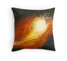 "The Land No 4 ""Bringing in the sheep"" Throw Pillow"