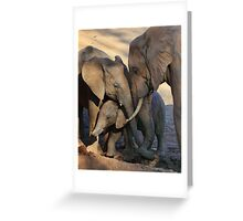 We Are Family. Greeting Card
