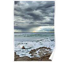 Oceanic Rainbow Poster