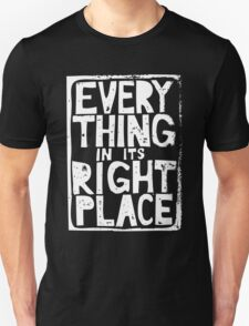 Everything in Its Right Place - Radiohead T-Shirt
