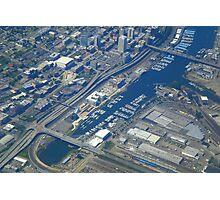 Tacoma, Washington. Aerial View Photographic Print