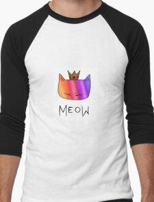Rainbow Meow Men's Baseball ¾ T-Shirt