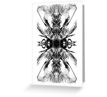 Abstract Graphic Square Greeting Card