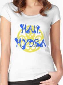 Groovy Hydra Women's Fitted Scoop T-Shirt