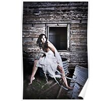 Rustic babe Poster