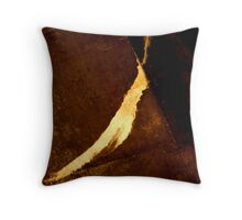 Flick of the brush Throw Pillow