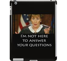 Your Questions iPad Case/Skin