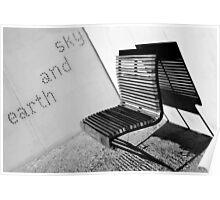 Earth and sky, Balmain Poster