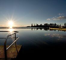 Dawn sea pool by steve  conti