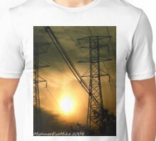 #362           Sunset With Powerlines Unisex T-Shirt