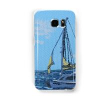 Caribbean sailboat Samsung Galaxy Case/Skin