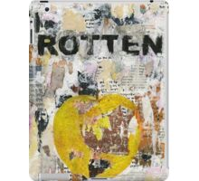 Rotten No# 3 iPad Case/Skin