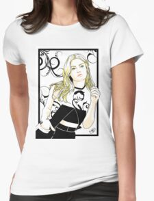 Gillian Jacobs Womens Fitted T-Shirt