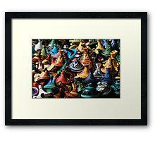Tagines Framed Print