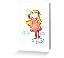An Angel to Watch Over You Greeting Card