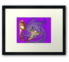 Mother Earth and the Unseen..... Framed Print