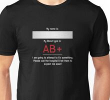 Fix Me - AB Positive  Unisex T-Shirt