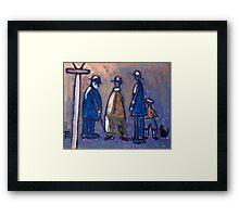 A family Framed Print