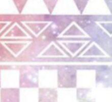 Patterned Pittie Sticker