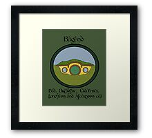 Bagend Bed and Breakfast Framed Print