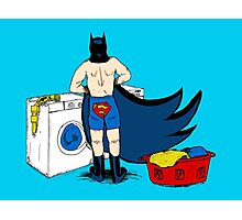 Holy Laundry Day! Photographic Print