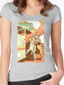 Breaking Bad to the Future Women's Fitted Scoop T-Shirt