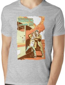 Breaking Bad to the Future Mens V-Neck T-Shirt