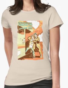 Breaking Bad to the Future Womens Fitted T-Shirt