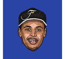 TEAMCURRY - Nba Finals 2015 - SMILE DESIGN Photographic Print