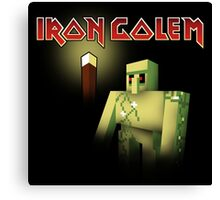 Iron Golem Canvas Print