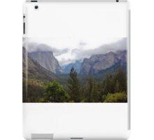 yosemite valley iPad Case/Skin