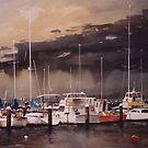 Corio bay marina by Mick Kupresanin