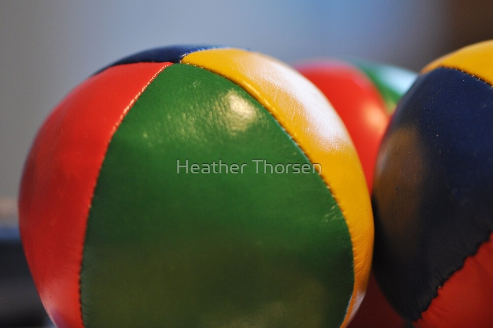 Juggling by Heather Thorsen