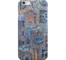 Under foot - a collage of textures iPhone Case/Skin