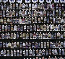 Ceramic Fridge Magnets, Amsterdam (Netherlands)  by Petr Svarc