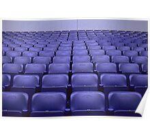 Empty Stadium Seating, Ajax Amsterdam Arena  Poster