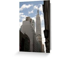 Empire State Building NY Greeting Card