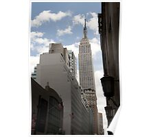 Empire State Building NY Poster