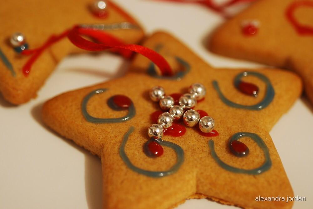 Gingerbread Star by alexandra jordan