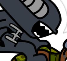 Alien vs. Marine 2 alt Sticker