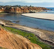 Onkaparinga Inlet, Poart Noarlunga South Australia  by rjpmcmahon