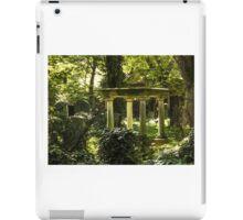 Jewish Cemetery iPad Case/Skin
