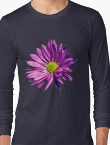 Purple daisy Long Sleeve T-Shirt