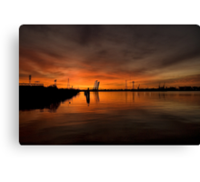 Norfolk Sunrise Canvas Print