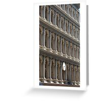 repition of arches  Greeting Card
