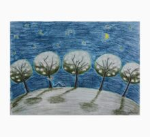Moonlight night Kids Tee