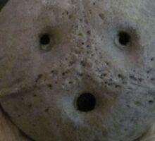 Coconut Head: Scream Sticker